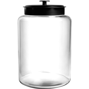 Image of Anchor 2.5 Gal Montana Jar with Black Lid