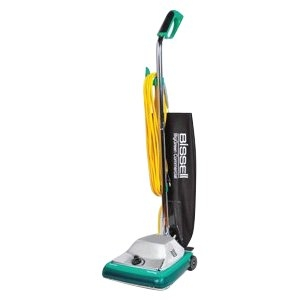 Bissell BigGreen Commercial DayClean Quiet-motor system Upright Vacuum, Comfort Grip Handle with Magnet, 650W, 12 Vacuum Width