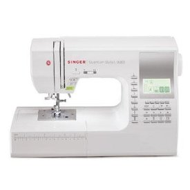 SINGER Quantum Stylist 600-Stitch (1000+ Stitch Function) Computerized Sewing Machine with Extension Table, Bonus Accessories and Hard Cover