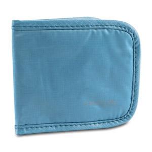 Travelon Safe ID Hack-Proof Slim Card Wallet with RFID Blocking (Teal)