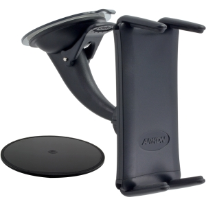 ARKON Smartphone and Midsize Tablet Mini Windshield Dashboard Car Mount Holder