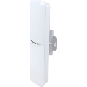 StarTech.com Outdoor 150 Mbps 1T1R Wireless-N Access Point - 2.4GHz 802.11b/g/n PoE-Powered WiFi AP - 1 x Antenna(s) - 2 x Network (RJ-45) - 1 Pack