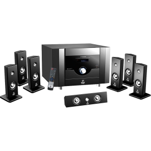 PylePro PT798SBA 7.1 Home Theater System - 500 W RMS - Piano Black - MPEG-4