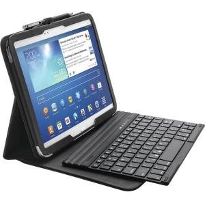 Kensington KeyFolio Pro K97156US Keyboard/Cover Case (Folio) for 10.1 Tablet - Black - Damage Resistant, Scratch Resistant