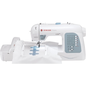 Click here for Singer Futura XL-400 Electric Sewing Machine - 30... prices