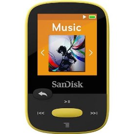 Click here for Clip Sport 8GB MP3 Player Ylw prices