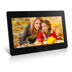 "Image of Aluratek 18.5"" Digital Photo Frame with 4GB Built In Memory"