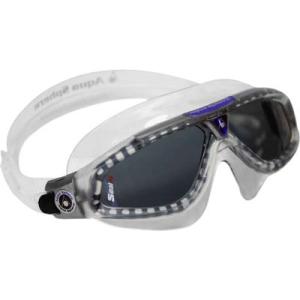 Image of Aqua 169920 Seal XP Swim Mask Smoke Lens Transparent Frame