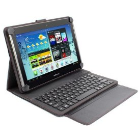 Digital Treasures Universal Keyboard & Power Case for 10 Tablets - 8,000 mAh