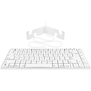 Mace Macally Lightning Wired Keyboard - Cable - Compatible w Tablet, Smartphone