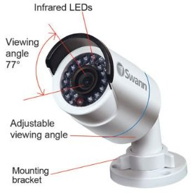 4X1080P CAMS HD 170FT IP66 WEATHER-RESISTANT RATING