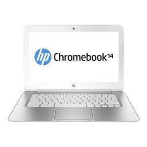 HP Chromebook 14 14 LED Notebook - Intel Celeron 2955U 1.40 GHz - 4 GB RAM - 32 GB SSD - Intel HD Graphics - Chrome OS 32-bit (English) - 1366 x 768 Display - Bluetooth - English (US) Keyboard
