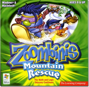 Zoombinis - Mountain Rescue