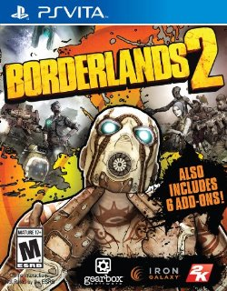 PS VITA Borderlands 2