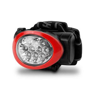 Image of Camelion Ultra Bright 10 LED Headlamp (Black/Red)