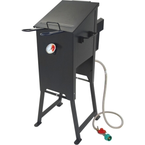 Image of Barbour Classic Outdoor 4 gal. Bayou Fryer - 4 gal Oil - Stainless Steel