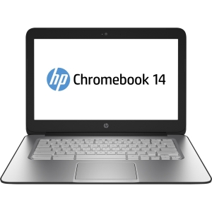 HP Chromebook 14 G1 14 LED (BrightView) Notebook - Intel Celeron 2955U 1.40 GHz - Black - 4 GB RAM - 32 GB SSD - Intel HD Graphics - Chrome OS - 1366 x 768 Display - Bluetooth