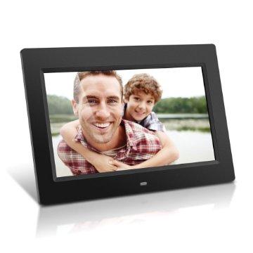 "Aluratek ADMPF310F 10"" Digital Photo Frame with 4GB Built-In Memory (Black)"