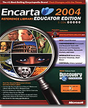 Microsoft Encarta Reference Library Educator Edition 2004