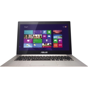 Asus ZENBOOK Touch UX31LA-DS71T 13.3 Touchscreen (In-plane Switching (IPS) Technology) Ultrabook - Intel Core i7 i7-4500U 1.80 GHz - Silver Gray - 8 GB RAM - 128 GB SSD - Intel HD Graphics 4400 - Windows 8.1 64-bit - 1920 x 1080 Display - Bluetooth