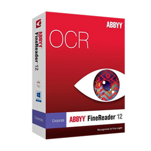 Image of Abbyy FineReader 12 Corporate OCR Software