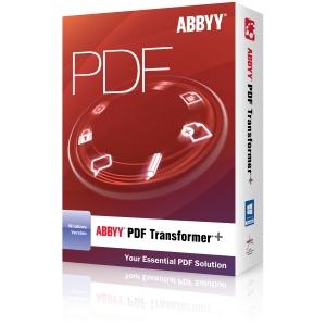 Image of ABBYY PDF Transformer+ - 1 License - PDF Conversion/Editor - Box - PC