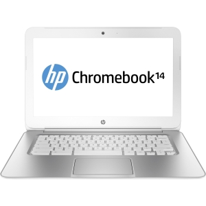 HP Chromebook 14 14 LED Notebook - Intel Celeron 2955U 1.40 GHz - Black - 4 GB RAM - 16 GB SSD - Intel HD Graphics - Chrome OS - 1366 x 768 Display - Bluetooth