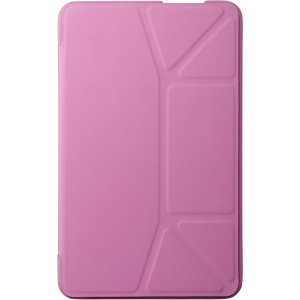 "Asus TransCover Carrying Case for Tablet - Pink - Polyurethane, MicroFiber Interior - 0.6"" Height x 4.8"" Width x 7.9"" Depth"