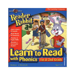 Reader Rabbit Learn to Read with Phonics! 1st & 2nd Grade
