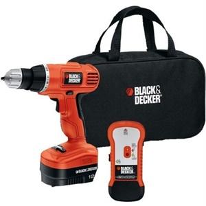 Black & Decker GCO12SFB Cordless Drill - Driver Drill - 0.37 Chuck