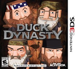 Image of Activision Duck Dynasty - Simulation Game - Nintendo 3DS