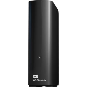 WD Elements WDBWLG0040HBK-NESN 4 TB External Hard Drive - USB 3.0 - Desktop - Retail