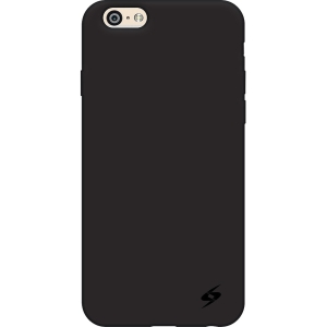 Image of Amzer AMZ97269 Black Silicone Skin Jelly Case for iPhone 6