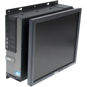 Rack Solutions Dell Optiplex 790 SFF Wall Mount - Fixed Moni