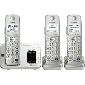 Click here for Panasonic KX-TGE263S Link2Cell Expandable Cordless... prices