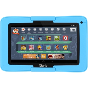 Kurio Xtreme 7 Android Tablet with Blue Bumper - Tablet - Android 4.4 - Intel Processor - Google Play - 16gb internal memory - 90 Preloaded Games - First Body Motion Tablet - Preloaded Motion Games - Parental Controls - Safe Web Surfing