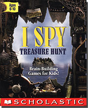 I Spy - Treasure Hunt w/I SPY Book & Bonus Mini CD