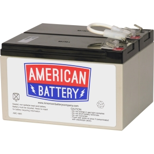 Image of American Battery APC RBC109 UPS Repacement Battery