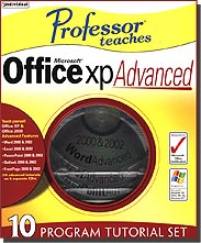 Professor Teaches Microsoft Office XP Advanced
