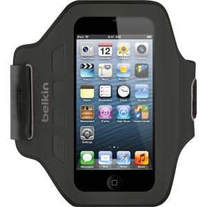Belkin Ease-Fit Armband for iPod Touch 5th Generation - Blacktop