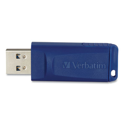Click here for Verbatim VTM98658 98658 64GB USB Flash Drive (Blue... prices