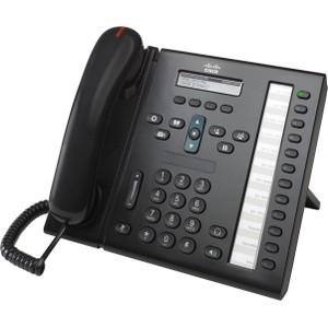 Cisco Unified IP Phone 6961, Charcoal, Slimline
