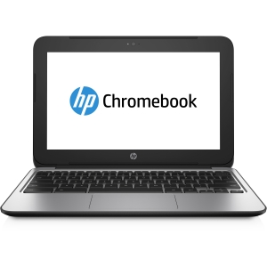 HP Chromebook 11 G3 11.6 LED Notebook - Intel Celeron N2840 2.16 GHz - Black - 4 GB RAM - Intel HD Graphics - Chrome OS 32-bit - 1366 x 768 Display - Bluetooth