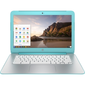 HP ChromeBook 14 (Turquoise/White)
