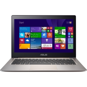 Asus ZENBOOK UX303LN-DB71T 13.3 Touchscreen (In-plane Switching (IPS) Technology) Ultrabook - Intel Core i7 i7-4510U 2 GHz - Smoky Brown - 12 GB RAM - 256 GB SSD - NVIDIA GeForce GT 840M - Windows 8.1 64-bit - 3200 x 1800 Display - Bluetooth