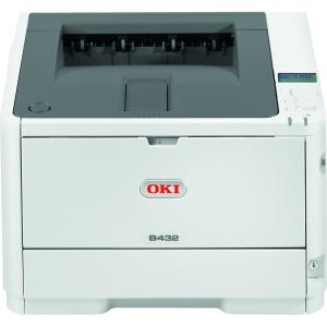 Oki B432dn Monochrome LED Printer with Automatic Duplex Printing