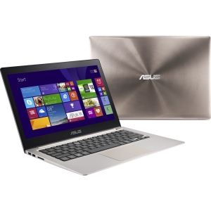 Asus ZENBOOK UX303LA-DS51T 13.3 Touchscreen (In-plane Switching (IPS) Technology) Ultrabook - Intel Core i5 i5-5200U 2.20 GHz - Smoky Brown - 8 GB RAM - 128 GB SSD - Intel HD Graphics 5500 - Windows 8.1 64-bit - 1920 x 1080 Display - Bluetooth