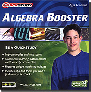 QuickStudy Algebra Booster