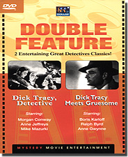 Dick Tracy: Detective & Meets Gruesome -  2 Classic Movies