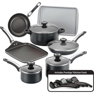 Click here for High Performance Cookware Set, Black prices